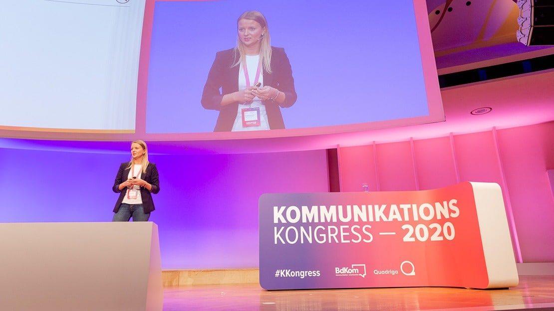 Magdalena Hauser ist Director Communications bei Condor. (Foto: Jana Legler / Quadriga)