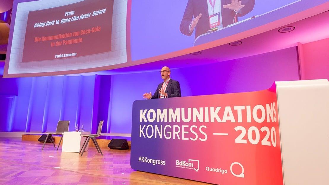 Patrick Kammer ist Director Communications, Public Affairs & Sustainability (Central & Eastern Europe) bei Coca-Cola und an der Quadriga Hochschule im Beirat Corporate Communications aktiv. (Foto: Legler / Quadriga)