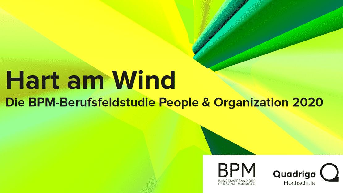 Cover der gemeinsamen Studie vom BPM und der Quadriga Hochschule.