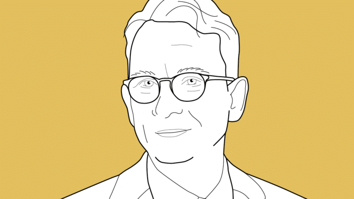Illustration des Profilbilds von Quadriga-Professor Dr. Jens Grundei.