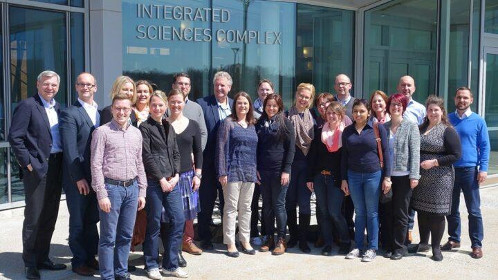 Für Studierende des MBA Leadership und seinen Vertiefungen wurden in den letzten Jahren Reisen nach Singapur oder, wie auf dem Foto zu sehen, nach Boston angeboten. (Foto: Privat)