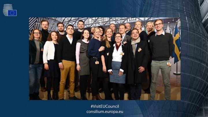 Die Auslandsreisen erweitern nicht nur Perspektive und Praxiseindrücke der Studierenden, sondern sind auch für das Gemeinschaftsgefühl unter den Studierenden von großer Bedeutung. Der MBA Public Affairs & Leadership fährt jährlich nach Brüssel ins Herz der EU. (Foto: EU-Council)