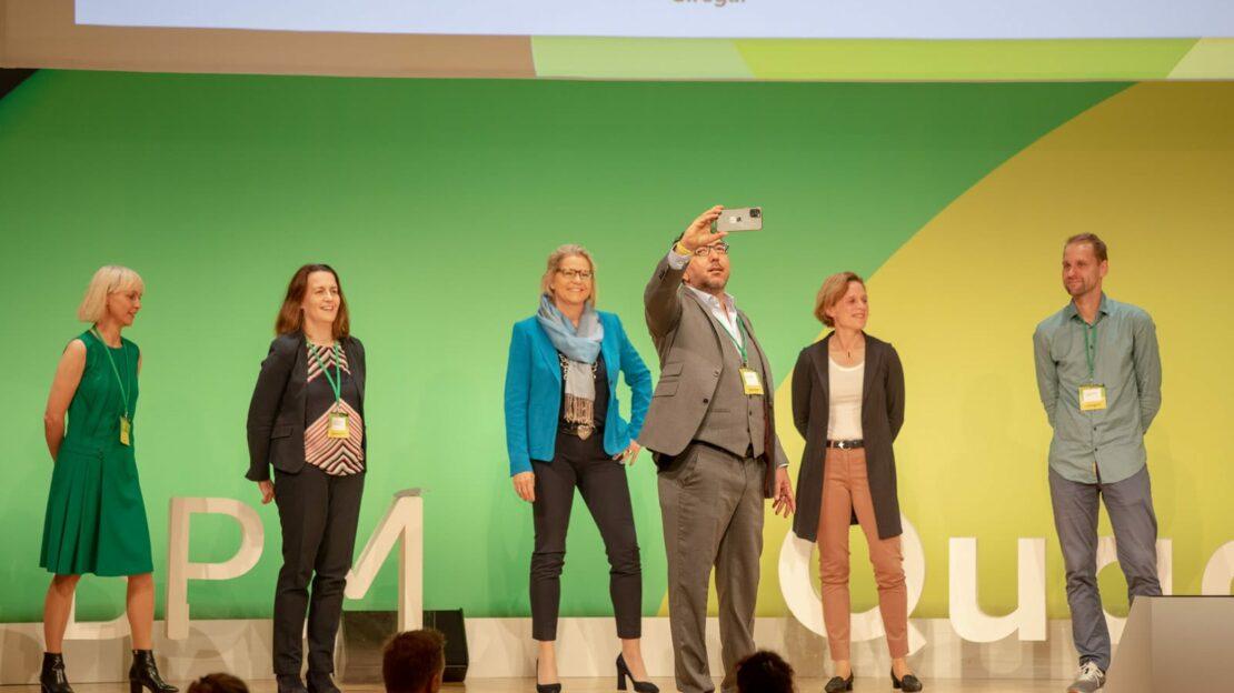 Felicitas von Kyaw & Katrin Krömer beim BPM-Selfie (Foto: Legler)